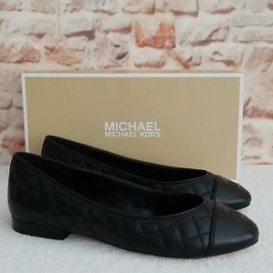 New Michael Kors Dylyn Quilted Ballet Flats